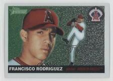 2004 Topps Heritage Chrome #THC105 Francisco Rodriguez Los Angeles Angels Card