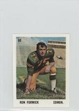1971 O-Pee-Chee CFL Players Photos Stamps #60 Ron Forwick Edmonton Eskimos (CFL)