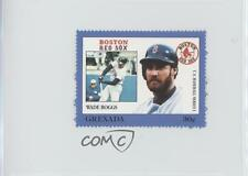1988 Grenada Major League Baseball in Stamps US Series 1 #WABO Wade Boggs Card