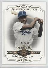 2012 Topps Museum Collection Copper #82 Jackie Robinson Brooklyn Dodgers Card