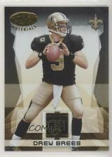 2008 Leaf Certified Materials Gold Team GT-10 Drew Brees New Orleans Saints Card