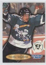 1996-97 Fleer Starting Lineup #5 Teemu Selanne Anaheim Ducks (Mighty of Anaheim)