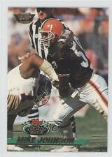 1993 Topps Stadium Club Members Only #394 Mike Johnson Cleveland Browns Card