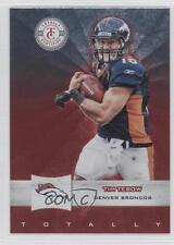 2011 Panini Totally Certified Red #50 Tim Tebow Denver Broncos Football Card