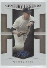 2008 Donruss Threads Century Legends Proof #CL-5 Whitey Ford New York Yankees