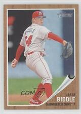 2011 Topps Heritage Minor League Edition 65 Jesse Biddle Lakewood BlueClaws Card