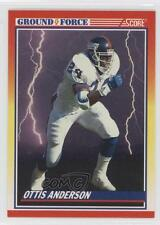 1990 Score #562 Ottis Anderson New York Giants Football Card