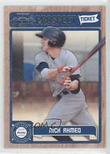 2011 Playoff Contenders Prospect Tickets #RT21 Nick Ahmed Atlanta Braves Card