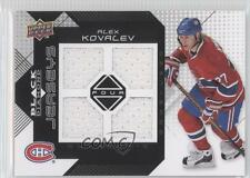 2008-09 Upper Deck Black Diamond Quad Jerseys #BDJ-KO Alex Kovalev Hockey Card