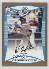 2008 Bowman Draft Picks & Prospects Gold #BDPP82 Welington Castillo Chicago Cubs