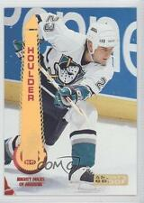 1994 Pinnacle Artist's Proof #206 Bill Houlder Anaheim Ducks (Mighty of Anaheim)