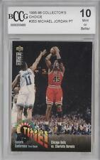 1995 #353 Eastern Conference First Round Bulls vs Hornets Chicago Charlotte Card
