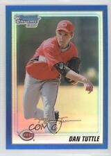 2010 Bowman Chrome Prospects Blue Refractor #BCP193 Dan Tuttle Cincinnati Reds