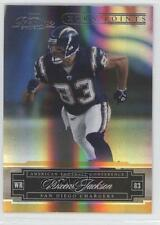 2007 Playoff Prestige Xtra Points Gold #121 Vincent Jackson San Diego Chargers