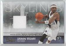 2009 Panini Studio Skylines Materials Memorabilia 6 Jason Terry Dallas Mavericks
