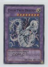 2005 Yu-Gi-Oh! Cybernetic Revolution #CRV-EN035.1 Cyber Twin Dragon (Super Rare)