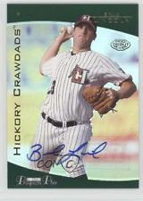 2006 TRISTAR Prospects Plus Gold #14 Brad Lincoln Hickory Crawdads Auto Card
