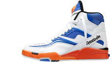 New 9.5 Reebok V48633 Pump TWILIGHT ZONE Dominique Wilkins White Blue Orange