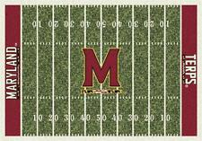 University of Maryland Terps Football Field Rug