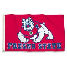 Fresno State University Bulldogs Large Grommet Flag Banner