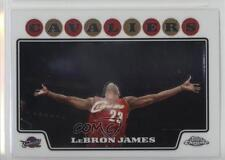 2008-09 Topps Chrome #23 Lebron James Cleveland Cavaliers Basketball Card