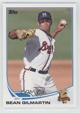2013 Topps Pro Debut #202 Sean Gilmartin Mississippi Braves Rookie Baseball Card