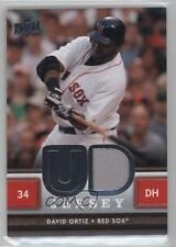 2008 Upper Deck UD Game Jersey Series 1 #UD-DO David Ortiz Boston Red Sox Card