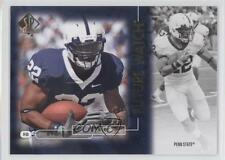 2011 SP Authentic #112 Evan Royster Penn State Nittany Lions RC Football Card