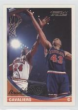 1993-94 Topps Gold #349 Brad Daugherty Cleveland Cavaliers Basketball Card