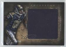2012 Topps Inception Rookie Jumbo Relics Gold #JR-BQ Brian Quick St. Louis Rams