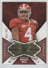 2012 SPx Finite Rookies #F-MA Marquis Maze Alabama Crimson Tide Football Card