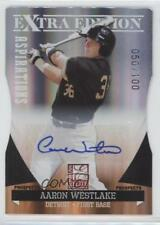 2011 Donruss Elite Extra Edition #22 Aaron Westlake Detroit Tigers Auto Card