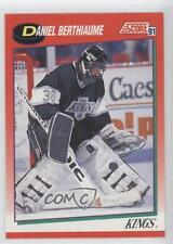 1991 Score Canadian English #132 Daniel Berthiaume Los Angeles Kings Hockey Card