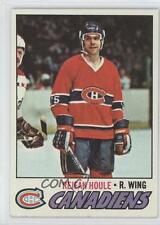 1977-78 Topps #241 Rejean Houle Montreal Canadiens Hockey Card