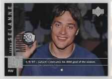 1997-98 Upper Deck 1 Teemu Selanne Anaheim Ducks (Mighty of Anaheim) Hockey Card