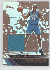 2003 Topps Jersey Edition Copper #jeJMA Jamaal Magloire New Orleans Hornets Card