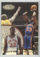 2000 Topps Gold Label Class 2 #65 Patrick Ewing New York Knicks Basketball Card