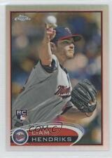 2012 Topps Chrome Refractor #154 Liam Hendriks Minnesota Twins Baseball Card