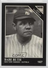 1991 The Sporting News Conlon Collection #110 Babe Ruth New York Yankees Card