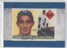 2013 Topps Manufactured Rookie Card Patch #RCP-4 Sandy Koufax Brooklyn Dodgers