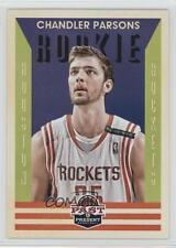2012 Panini Past & Present #210 Chandler Parsons Houston Rockets RC Rookie Card
