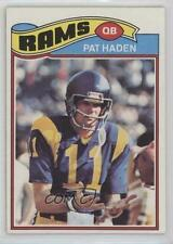 1977 Topps #18 Pat Haden Los Angeles Rams RC Rookie Football Card