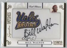 2009-10 Playoff National Treasures Signature Patches College #3 Bill Walton Auto