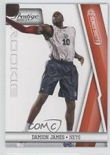 2010-11 Prestige Bonus Shots Orange 233 Damion James New Jersey Nets Rookie Card