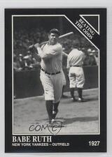 1993 The Sporting News Conlon Collection #888 Babe Ruth New York Yankees Card