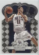 2009-10 Crown Royale #5 Brook Lopez New Jersey Nets Basketball Card
