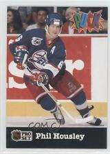 1991-92 Pro Set Puck #30 Phil Housley Winnipeg Jets Hockey Card