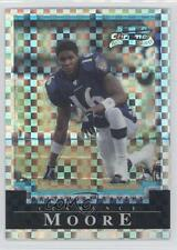 2004 Bowman Chrome X-Fractor #183 Clarence Moore Baltimore Ravens Football Card