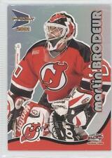2000-01 Pacific Prism McDonald's 20 Martin Brodeur New Jersey Devils Hockey Card