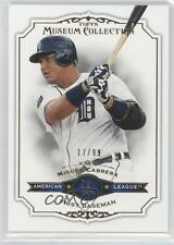 2012 Topps Museum Collection Gold #100 Miguel Cabrera Detroit Tigers Card